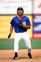 Chin-Feng Chen of the San Bernardino Stampede during a California League baseball game at The Ranch circa 1999 in San Bernardino,CA. (Larry Goren/Four Seam Images)