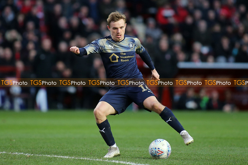 Luke Thomas of Barnsley in action during Charlton Athletic vs Barnsley, Sky Bet EFL Championship Football at The Valley on 1st February 2020