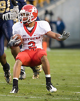 October 25, 2008: Rutgers wide receiver Tim Brown. The Rutgers Scarlet Knights defeated the Pitt Panthers 54-34 on October 25, 2008 at Heinz Field, Pittsburgh, Pennsylvania.
