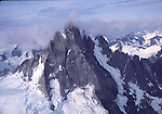 The Devil's Thumb by air in May