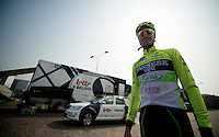 Milan-San Remo preparations..the day before.fluo Kevin Hulsmans