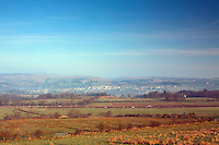 Lochwinnoch and Clyde Murshiel Country Park from Belltrees Road, Renfrewshire