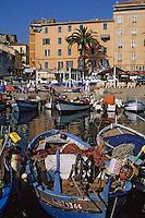 Europe/France/Corse/2A/Corse-du-Sud/Ajaccio: Pointu sur le port de pêche