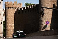 6th June 2021; F1 Grand Prix of Azerbaijan, Race Day;  77 BOTTAS Valtteri fin, Mercedes AMG F1 GP W12 E Performance during the Formula 1 Azerbaijan Grand Prix 2021 at the Baku City Circuit