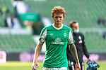 19.09.2020, wohninvest Weserstadion, Bremen, GER,  SV Werder Bremen vs Hertha BSC Berlin, <br /> <br /> <br />  im Bild<br /> <br /> enttäuscht / enttaeuscht / traurig / Niederlage / dissapointed<br /> Joshua Sargent (Werder Bremen #19)<br /> <br /> Foto © nordphoto / Kokenge<br /> <br /> DFL regulations prohibit any use of photographs as image sequences and/or quasi-video.