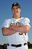 Feb 28, 2010; Bradenton, FL, USA; Pittsburgh Pirates  pitcher Daniel McCutchen (34) during  photoday at Pirate City. Mandatory Credit: Tomasso De Rosa/ Four Seam Images
