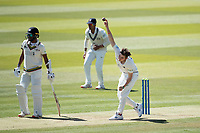 Ethan Bamber, Middlesex CCC in action during Middlesex CCC vs Gloucestershire CCC, LV Insurance County Championship Group 2 Cricket at Lord's Cricket Ground on 7th May 2021