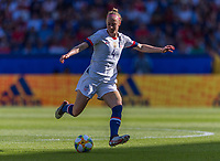 PARIS,  - JUNE 16: Becky Sauerbrunn #4 passes during a game between Chile and USWNT at Parc des Princes on June 16, 2019 in Paris, France.