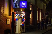 Melbourne, July 14, 2018 - Bastille Day celebrations at Philippe Restaurant in Melbourne, Australia. Photo Sydney Low