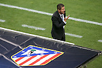 Atletico de Madrid's coach Diego Pablo Cholo Simeone during Champions League 2014/2015 match.October 1,2014. (ALTERPHOTOS/Acero)