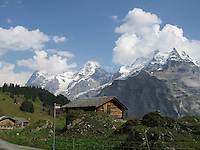 Alpen barn, Swiss Alps