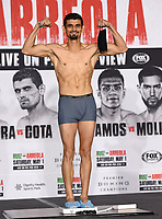 LOS ANGELES, CA - APRIL 30: Jorge Cota attends the official weigh-in for the Andy Ruiz Jr. vs Chris Arreola Fox Sports PBC Pay-Per-View in Los Angeles, California on April 30, 2021. The PPV fight is on May 1, 2021 at Dignity Health Sports Park in Carson, CA. (Photo by Frank Micelotta/Fox Sports/PictureGroup)
