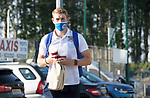 St Johnstone v Lask…26.08.21  McDiarmid Park    Europa Conference League Qualifier<br />David Wotherspoon arrives ahead of tonight's game<br />Picture by Graeme Hart.<br />Copyright Perthshire Picture Agency<br />Tel: 01738 623350  Mobile: 07990 594431