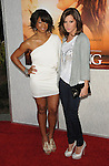 Ashley Tisdale & Monique Coleman at the Touchstone Pictures' World Premiere of The Last Song held at The Arclight  in Hollywood, California on March 25,2010                                                                   Copyright 2010  DVS / RockinExposures