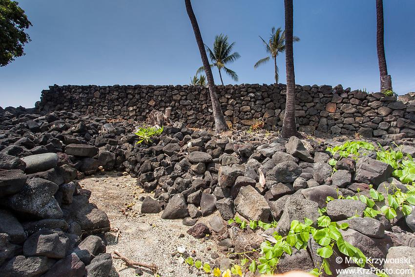 Ku'emanu Heiau, Kailua-Kona, Big Island, Hawaii