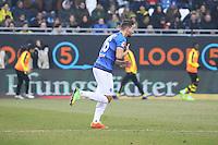 Antonio Colak (SV Darmstadt 98) kommt ins Spiel - 11.02.2017: SV Darmstadt 98 vs. Borussia Dortmund, Johnny Heimes Stadion am Boellenfalltor