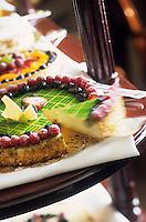 """Amérique/Amérique du Nord/USA/Etats-Unis/Vallée du Delaware/Pennsylvanie/Philadelphie : Cheesecake - Recette de Frédéric Cote chef du restaurant """"Le Bec Fin"""""""