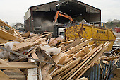 Clearun Ltd, a waste transfer company situated on the site of the 2012 Games in the Lower Lea Valley, East London.  Many local businesses will be displaced to enable construction of the Olympic stadium and related facilities.