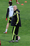 Spanish National Team's  training at Ciudad del Futbol stadium in Las Rozas, Madrid, Spain. In the pic: Vicente del Bosque. March 25, 2015. (ALTERPHOTOS/Luis Fernandez)