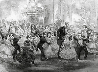 Christmas Party, 1859 Artist Unknown