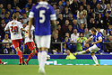 Gerard Deulofeu of Everton equalises<br />  - Everton v Stevenage - Capital One Cup Second Round - Goodison Park, Liverpool - 28th August, 2013<br />  © Kevin Coleman 2013