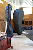 Black sculptures