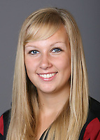 STANFORD, CA - OCTOBER 1: Maria Koroleva of the Stanford Cardinal synchronized swimming team poses for a headshot on October 1, 2008 in Stanford, California.