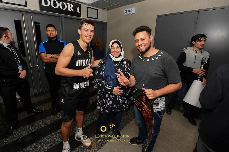 New Zealand Tall Blacks' Derone Raukawa, FIBA World Cup Basketball Qualifier - NZ Tall Blacks v Syria at TSB Bank Arena, Wellington, New Zealand on Sunday 2 2018. <br /> Photo by Masanori Udagawa. <br /> www.photowellington.photoshelter.com