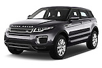 2016 Land Rover Range Rover Evoque HSE 5 Door Suv Angular Front stock photos of front three quarter view
