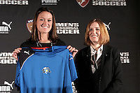 Brittany Bock -LA Sol with Commissioner Tonya Antonucci.WPS draft 2009-St Louis Convention and Visitors Center, St Louis, MO January 16 2006