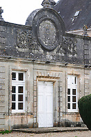 The garden park side facade of the chateau in classic but varied style Chateau de Cerons (Cérons) Sauternes Gironde Aquitaine France