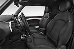 Front seat view of a 2014 MINI MINI COOPER CLUBVAN 5 Door Wagon 2WD Front Seat car photos
