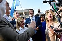 20211001 Elezioni Roma conferenza Centro Destra