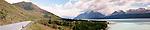 Lake Pukaki and Alps, New Zealand