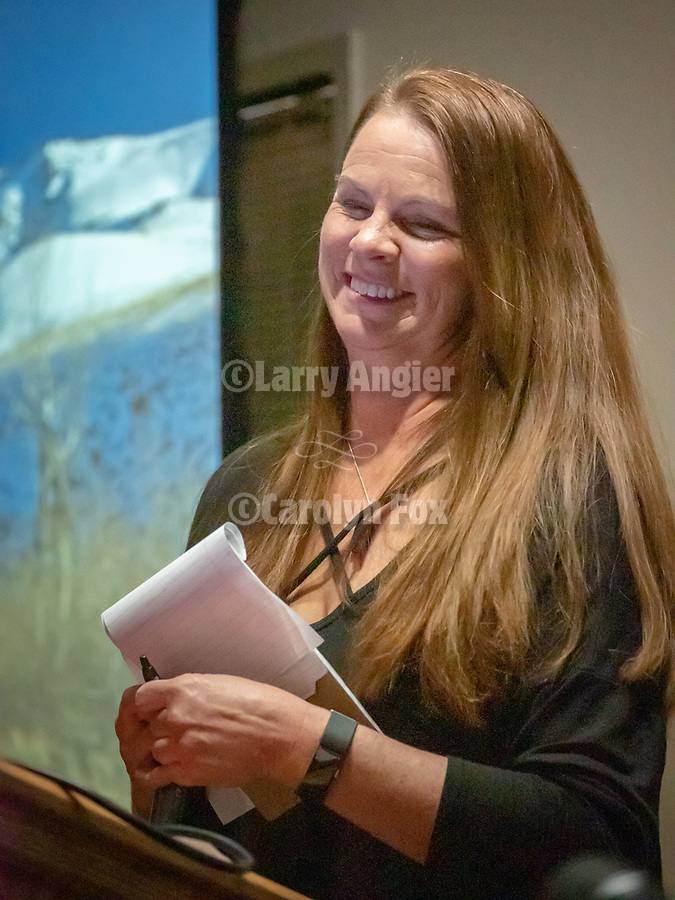 Retiring executive director Brenda Heintz, Shooting the West.<br /> <br /> #ShootingTheWest XXX, #WinnemuccaNevada