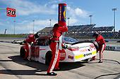 #20: Christopher Bell, Joe Gibbs Racing, Toyota Camry Rheem pit stop