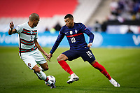 Kylian Mbappe  ( 10 - France ) - Pepe ( 3 - Portugal ) - PARIS 11/10/2020 Saint Denis <br /> Nations League France Vs. Portugal <br /> Photo Federico Pestellini / Panoramic / Insidefoto  <br /> ITALY ONLY