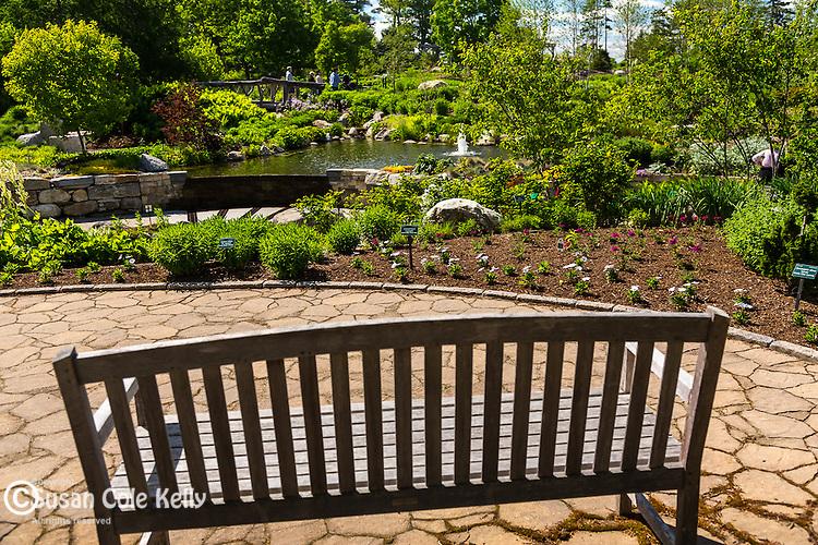 Coastal Maine Botanical Gardens in Boothbay, Maine, USA