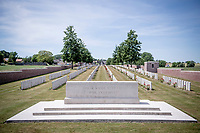 Klijte military cemetery<br /> <br /> Almost with every turn you make in Heuvelland, the road will lead you by a Great War Cemetery.  These WW1 cemeteries & memorials come in many forms and are always maintained in an impeccable shape; even after the Great War ended more then 100 yrs ago, it's presence/impact is still very prominent in this region of Flanders (Fields).<br /> <br /> cycling hotspots & impressions in Heuvelland<br /> <br /> Cycling In Flanders <br /> Flanders Tourist Board<br /> <br /> ©kramon