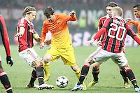 """Lionel Messi Barcellona.Milano 20/02/2013 Stadio """"S.Siro"""".Football Calcio UEFA Champions League 2012/13.Milan vs Barcellona.Foto Insidefoto Paolo Nucci."""