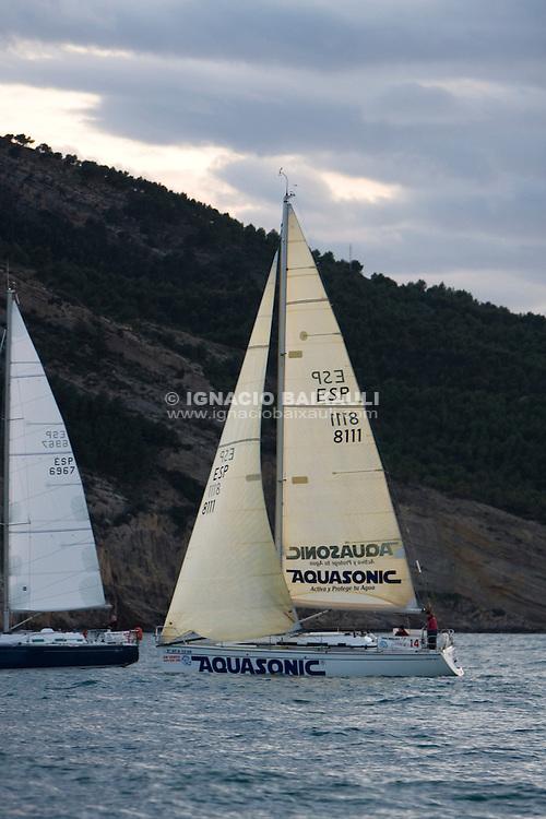 Blu Ferrari Aquasonic .XXIII Edición de la Regata de Invierno 200 millas a 2 - 6 al 8 de Marzo de 2009, Club Náutico de Altea, Altea, Alicante, España