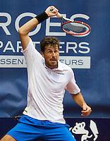 September 03, 2014,Netherlands, Alphen aan den Rijn, TEAN International, Robin Haase (NED)<br /> Photo: Tennisimages/Henk Koster