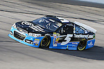 Sprint Cup Series driver Kasey Kahne (5) in action during the Nascar Sprint Cup Series Duck Commander 500 practice at Texas Motor Speedway in Fort Worth,Texas.