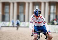 Tom Pidcock (GBR/Trinity)<br /> <br /> UCI 2021 Cyclocross World Championships - Ostend, Belgium<br /> <br /> Elite Men's Race<br /> <br /> ©kramon