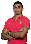 Elkeson of Guangzhou Evergrande poses for the official photo prior to the Guangzhou Evergrande vs Gamba Osaka match as part the AFC Champions League 2015 Semi Final 1st Leg match on September 29, 2015 at  Tianhe Sport Center in Guangzhou, China. Photo by Aitor Alcalde / Power Sport Images