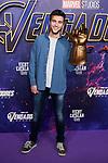 Pol Monen attends to Avengers Endgame premiere at Capitol cinema in Madrid, Spain. April 23, 2019. (ALTERPHOTOS/A. Perez Meca)