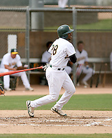 Dante Love / Oakland Athletics 2008 Instructional League..Photo by:  Bill Mitchell/Four Seam Images
