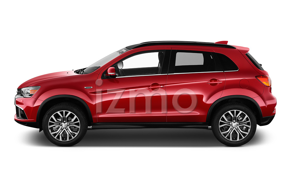 Car Driver side profile view of a 2019 Mitsubishi ASX Instyle 5 Door SUV Side View