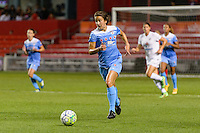 Chicago, IL - Saturday July 30, 2016: Jennifer Hoy during a regular season National Women's Soccer League (NWSL) match between the Chicago Red Stars and FC Kansas City at Toyota Park.