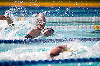 Santa Clara, California - Friday June 3, 2016: Leah Goldman competes in the Women's 200 Long Course Meter Freestyle event at the Arena Pro Swim Series.